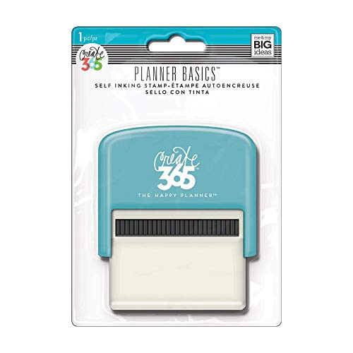 Me & My Big Ideas Create Self-Inking Stamp, Checklist - Black Ink - Easily Add To-Do Lists to Your Happy Planner