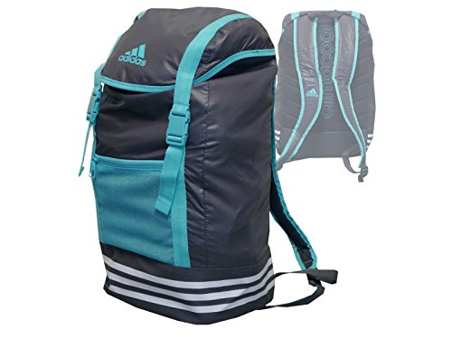 adidas ClimaCool Active Life Backpack / Rucksack grau/türkis Sport, Freizeit, Schule