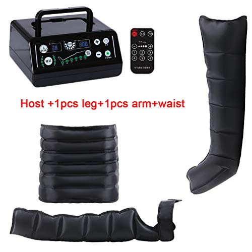 Great Price! NYPB 6 Air Chambers Leg Compression Massager, Adjustable Pressure Timing Function 6 Mod...