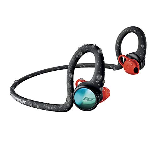 Plantronics 212200-99 Backbeat Fit 2100 Wireless Headphones, Sweatproof and Waterproof In Ear Workout Headphones, Black