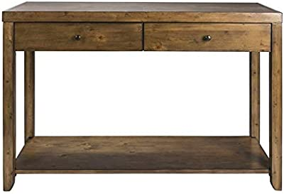 Super Amazon Com Leick Furniture Mission Sofa Table Medium Oak Onthecornerstone Fun Painted Chair Ideas Images Onthecornerstoneorg
