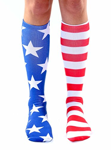 Living Royal Unisex Socken Stars und Stripes - - Knee Hoch