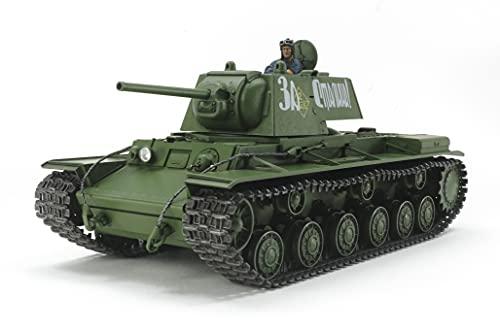 タミヤ 1/35 ミリタリーミニチュアシリーズ No.372 ソビエト重戦車 KV-I 1941年型 初期生産車 プラモデル 3...