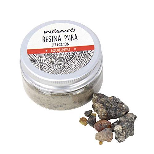 Resina Palo Santo dal Perù - Incenso 100% Naturale - Resina Fresca da Bruciare sul sublimatore - Ideale per profumare la casa,