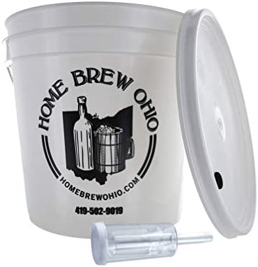 Home Brew Ohio FBA Does Not Apply Complete 2 Gallon Fermenting Bucket White product image