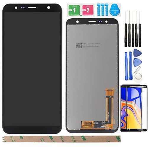 "YHX-OU 6.3"" per Samsung Galaxy J6 Plus J6+ J610 Galaxy J4 Plus J4+ 2018 J415 di Riparazione e Sostituzione LCD Display Touch Screen Digitizer+ con Utensili Inclusi (Nero)"