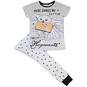 Pijama de Harry Potter Hogwarts Here Comes My Letter para mujer 29