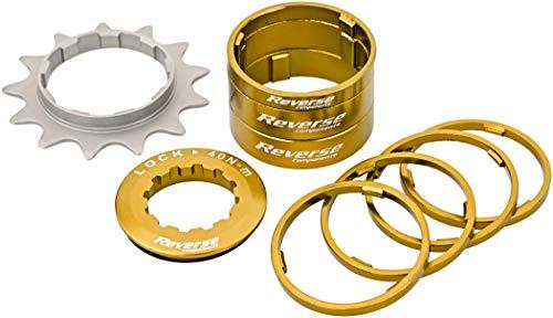 Reverse Single Speed Umbau Kit 13 ZÀhne Gold