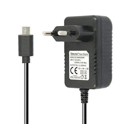 Akku-King Netzteil Ladegerät kompatibel mit Bose SoundLink Mini 2 / II und Colour Mobile Bluetooth Wireless Speaker - Micro-USB Lautsprecher Ladekabel