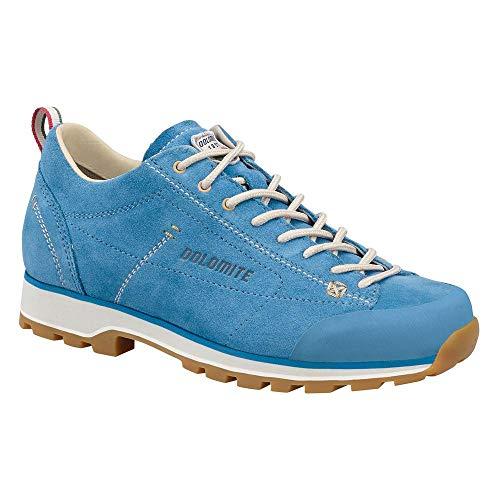 Dolomite Damen Zapato Cinquantaquattro Low W Sneaker, Türkis/Canapa Beige, 37 1/3 EU