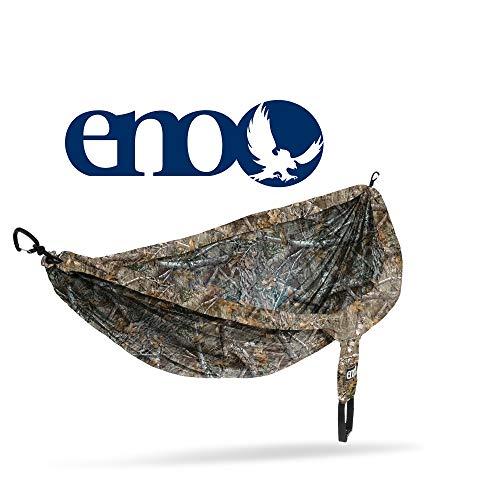 Eagles Nest Outfitters ENO DoubleNest Camouflage, tragbare Hängematte für Zwei, Realtree Edge