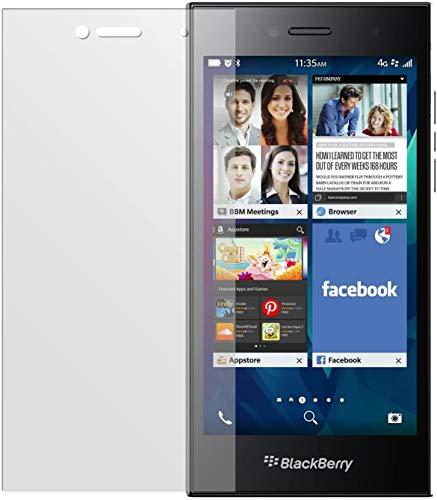 dipos I 6X Schutzfolie matt kompatibel mit BlackBerry Leap Folie Bildschirmschutzfolie
