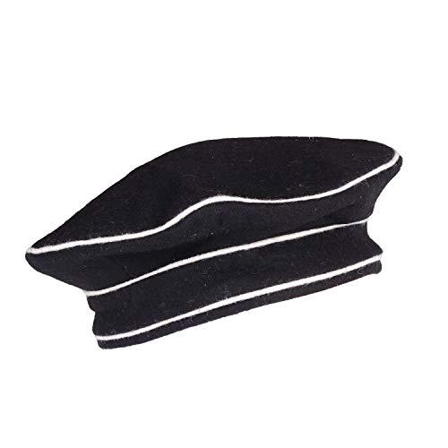 warreplica Kratzchen General Elite Cap M32 - Schwarze Farbe - Reproduktion (57)