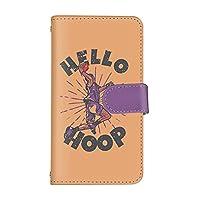 スマホケース OPPO Find X3 Pro OPG03 カード収納 鏡 付き 手帳型 ケース OPPO オッポ オッポ ファインド エックススリー プロ (C.オレンジxパープル) バスケ スポーツ ビンテージ バイカラー スマ通 vd-0472