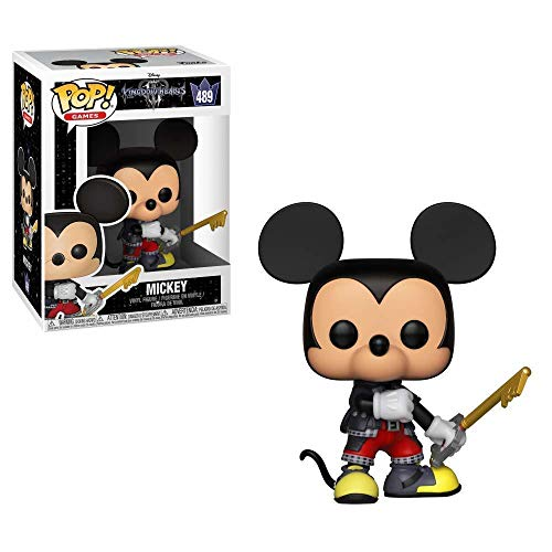 Funko- Pop Vinyl: Kingdom Hearts 3: Mickey Figura Coleccionable, Multicolor, Talla única (34054)