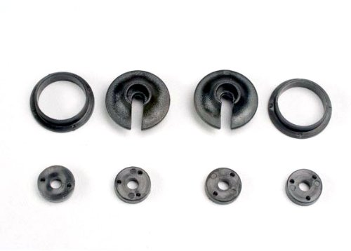 Traxxas 3768 Upper and Lower Spring Retainers and Piston Head Set (pair)
