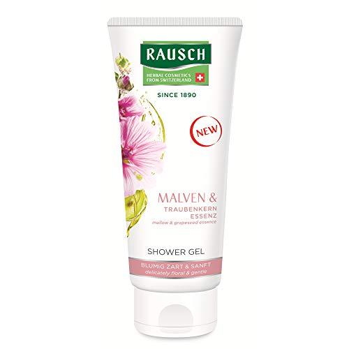 Rausch Malven SHOWER GEL schützt und verwöhnt die Haut mit hochwertigen Extrakten aus Malve, 1er Pack(1 x 200 milliliters)