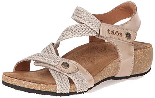 Taos Footwear Women's Trulie Stone Sandal 8-8.5 M US
