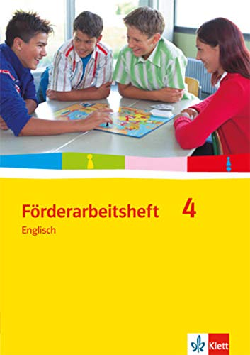 Förderarbeitsheft 4 - Englisch. Lösungen und Testvorschläge für den inklusiven Unterricht: Schülerausgabe Band 4