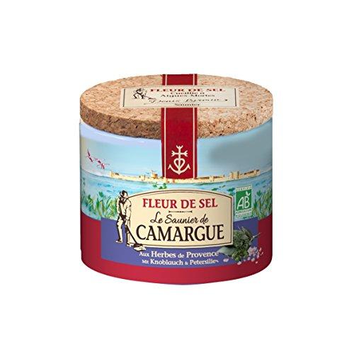 Le Saunier de Camargue Fleur De-Sel Kräuter Provence, (125 g)