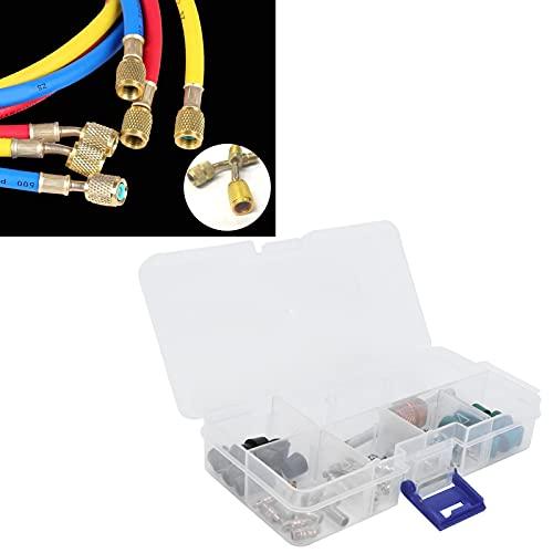 BOLORAMO Herramienta de reparación de Aire Acondicionado, fácil de Transportar, Buen procesamiento, núcleo de válvula de Aire Acondicionado para Mantenimiento y desmontaje de tuberías de fluoruro