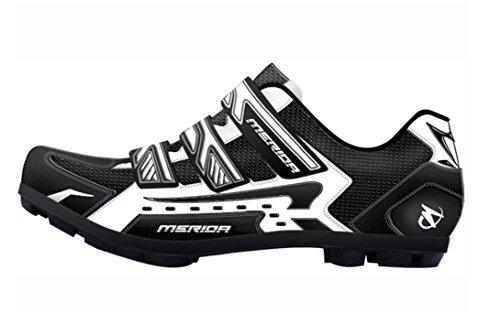 Unbekannt Merida Mountainbike Fahrradschuhe Speed Black White (42)