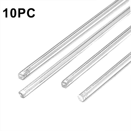"""Low Fuming Bare Bronze Brazing Rod 10 Lb All Sizes - RBCuZn-C 36/"""" Long"""
