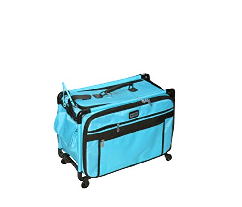Mascot Metropolitan Turquoise Tutto Machine Case On Wheels Large 22in, Large/22