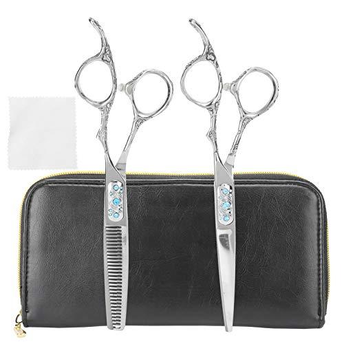 Tijeras, V-tooth Tijeras profesionales para salón, para mujeres Peluquerías Peluquería Recorte de cabello