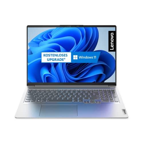 Lenovo IdeaPad 5 Pro 40,64 cm (16 Zoll, 2560x1600, WQXGA, WideView, entspiegelt) Slim Notebook (AMD Ryzen 7 5800H, 16GB RAM, 512GB SSD, AMD Radeon Grafik, Windows 10 Home) grau