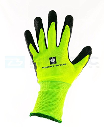 Engelbert Strauss Senso Grip LATEX GESTRICKTE HANDSCHUHE (M), Qualitative Arbeitskleidung