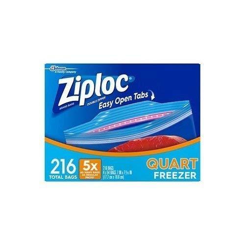 freezer quart ziploc - 7
