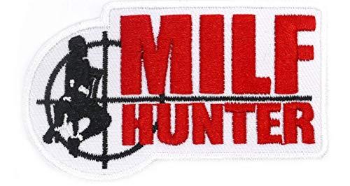 Aufnäher Aufbügler Patch Milf Hunter