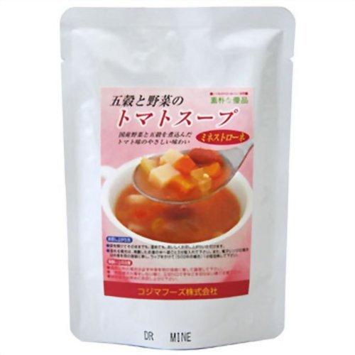 コジマフーズ『五穀と野菜のトマトス-プ(ミネストロ-ネ)』