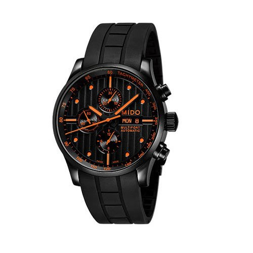 MIDO Mens Automatic Watch M0056143705101 with Rubber Strap