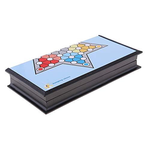 SM SunniMix Halmaspiel Chinesische Checker Puzzle Spiel Brettspiel Strategeiespiel