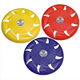 KITSAWS Sports Flying Disc Frisbee 8 Inch (Multicolour) Pack of 1 | for Kids and Adults Indoor and Outdoor Fun Games