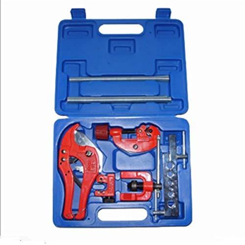 9 stks koperen buis buis expander airconditioner installeren reparatie hand uitbreiden tool kit