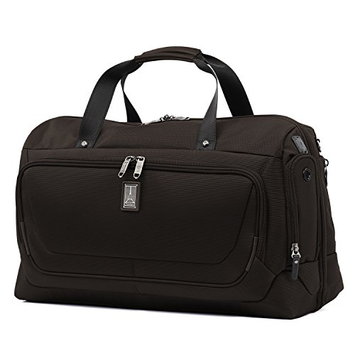Travelpro Luggage Crew 11 22' Carry-on Smart Duffel with Suiter w/USB Port, Mahogany Brown