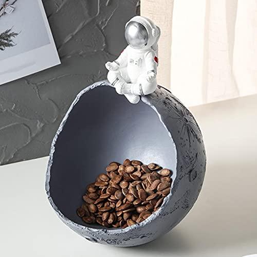 FQYYDD Cuencos decorativos Escultura de resina Decoración para el hogar Bandeja de almacenamiento Caja de almacenamiento | Figuras Y Figurines|