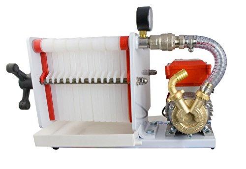 Fischer Kellereitechnik Weinfilter-Maschine Lackierter Weinfilter für 14 Filterschichten