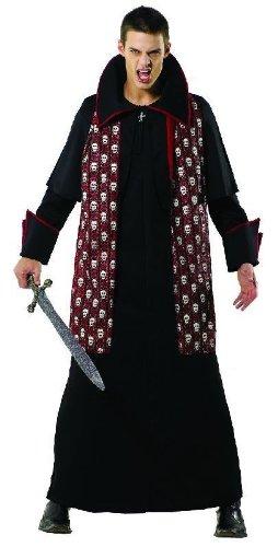Foxxeo Uomo di Halloween Costume Principe delle tenebre, Taglia: XL