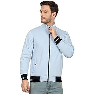 Monte Carlo Blue Solid Cotton Blend Sweatshirt 11 41G 1qSmBdL. SS300