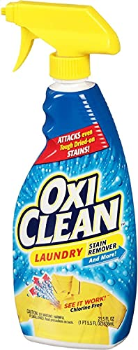 """Oxi Clean Laundry Stain Remover Spray 21.5 oz (Pack of 3)"""".1 Pack (Limited Edition 2021)"""""""