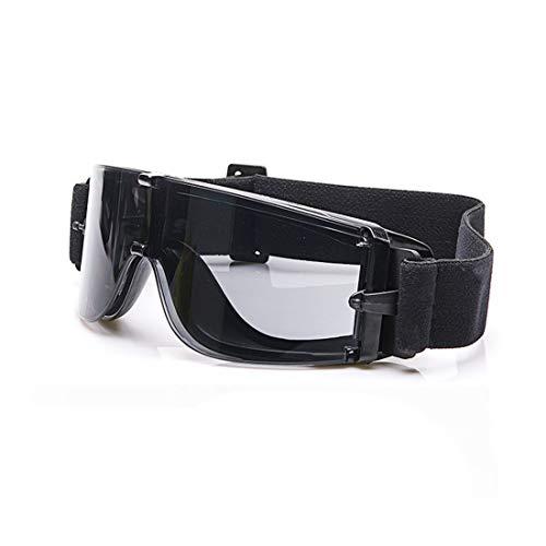 Mifusanahorn brilmontuur voor sport, condensvrij, voor dames en heren, met elastische beugels, accessoires om te lopen