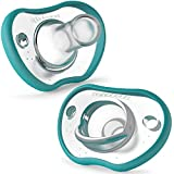 Nanobebe Baby Pacifiers 3+ Month - Orthodontic, Curves Comfortably...
