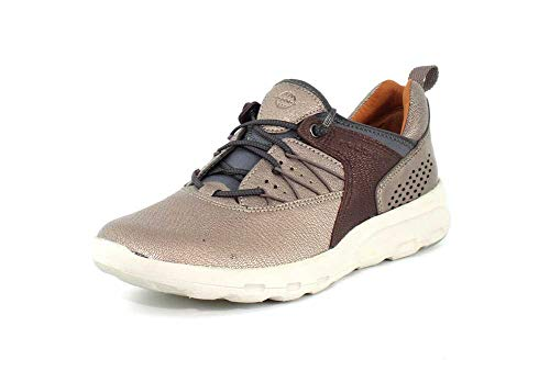 Rockport Let's Walk Women's Bungee - Comfort Shoe Metallic - 11 Medium