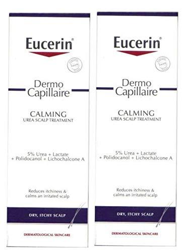 Eucerin® Dermocapillaire Calmer Traitement du Cuir Chevelu De L'Urée - Lot De 2