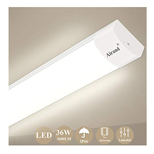 Plafoniera da Officina, Airand 120CM 36W LED IP66...