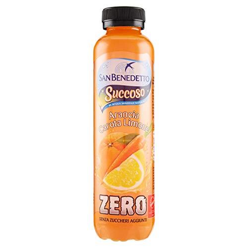 San benedetto succoso zero arancia carota limone da 0.40l (1000060167)